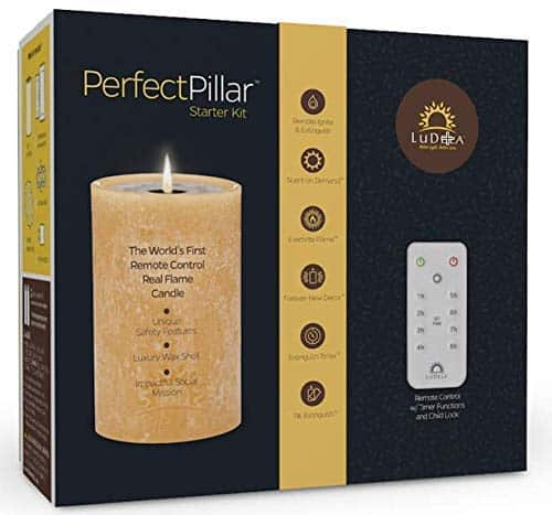 Remote Control Real Flame Smart Candles