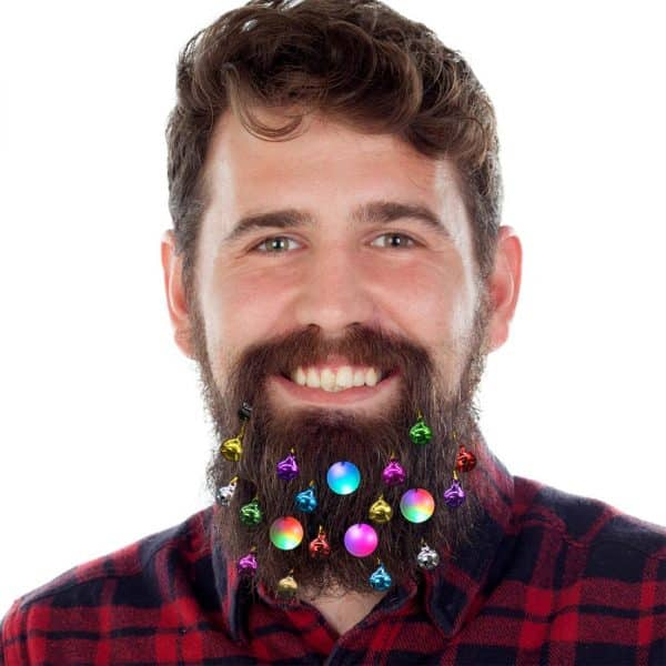 DecoTiny Light Up Beard Ornaments