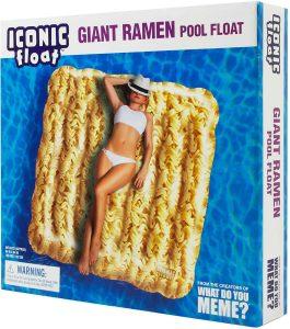 Giant Ramen Pool Floats