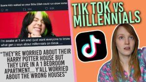 TikTok Millennials vs Gen Z